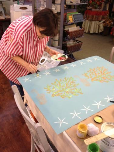 Fabulous Floor Cloths/Stenciling Workshop