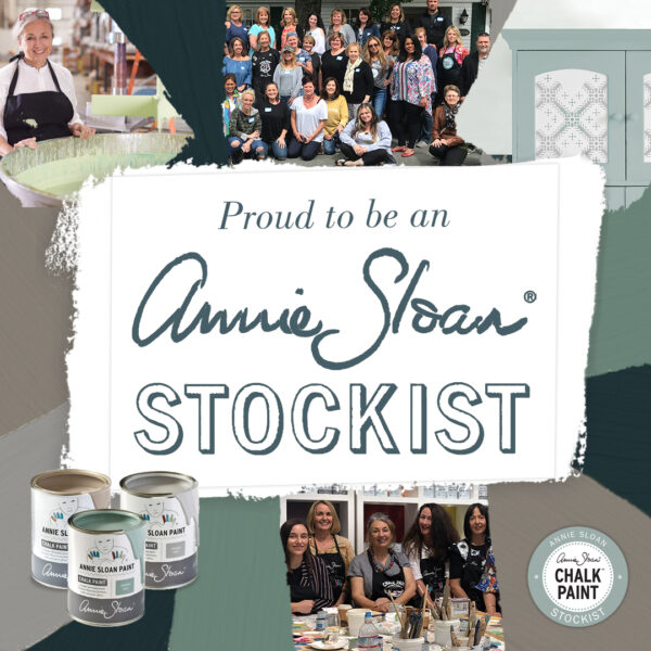 Proud to be an Annie Sloan Stockist